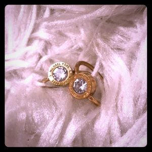 MIchael Kors Set of Rings Great Used Condition💍💍